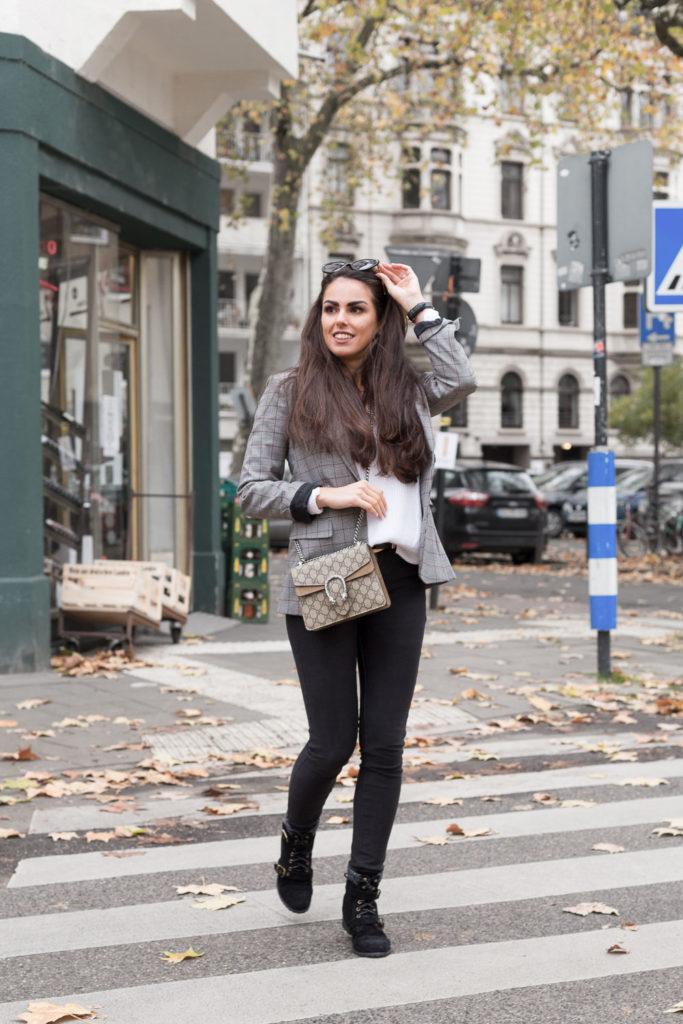 Tasche Mieten Gucci Dionysus braun Herbstoutfit bloggerstyle Rebecca Garcia